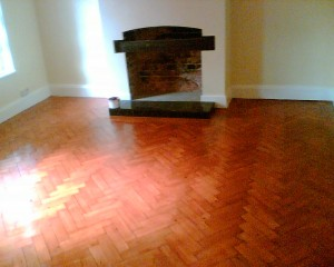 Restoration of Parquet Flooring